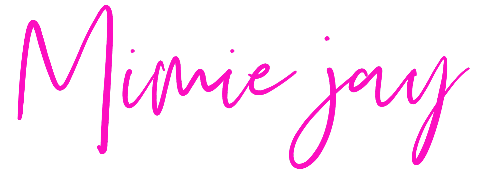 I'm Mimiejay, I blog about what I blog about.