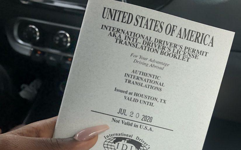 How I Got My International Driver's License In Dubai