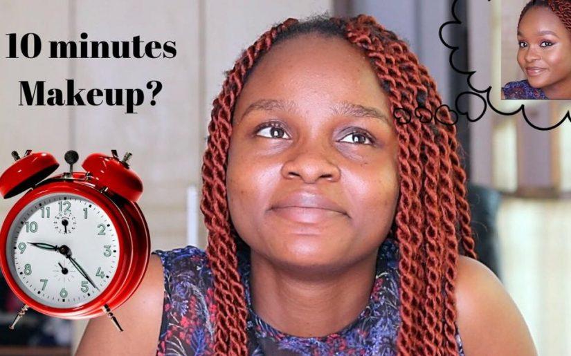10 minutes makeup