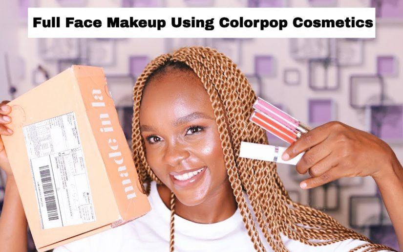 colourpop makeup products