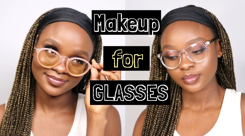 makeup tutorial for glasses wearers