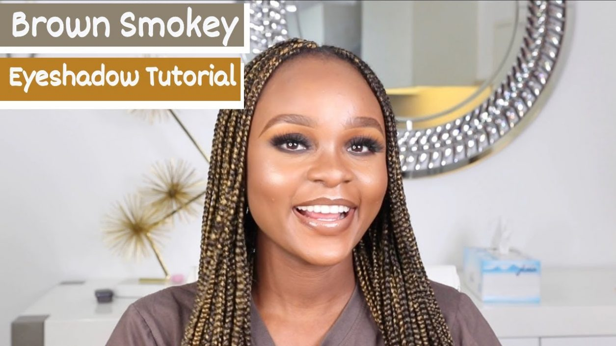 Easy Smokey Eye Makeup Tutorial On Dark Skin